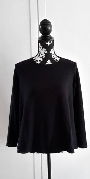 Schwarzer Pullover von Stefanel in S