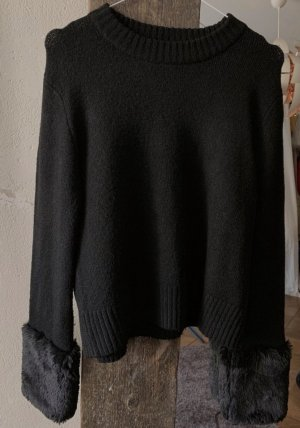 Zara Knitted Sweater black