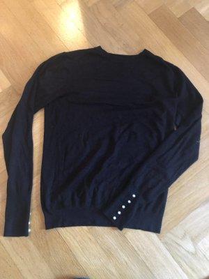 schwarzer Pullover Zara M / 38