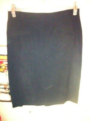 Jupe crayon noir polyamide
