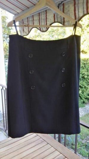 Time Collection Falda asimétrica negro