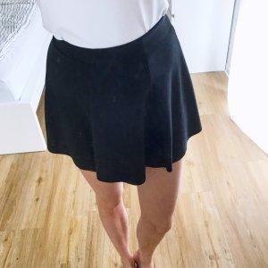 Bershka Falda circular negro