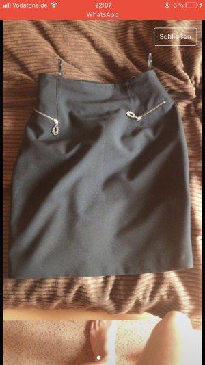 Falda larga negro