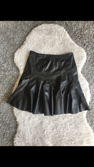 Guess Faux Leather Skirt black
