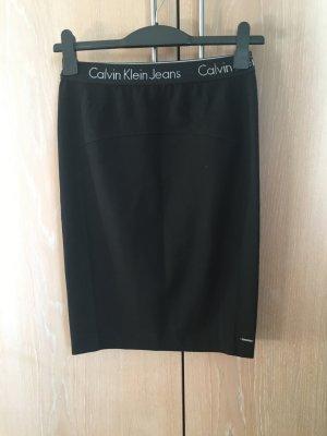Schwarzer Rock Calvin Klein Jeans