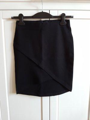 Forever 21 Asymmetry Skirt black viscose