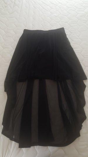 H&M Divided Asymmetry Skirt black