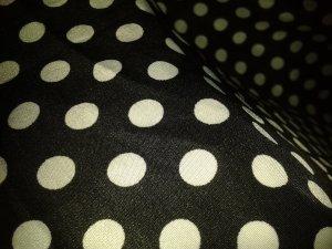 Maxi rok wit-zwart Polyester