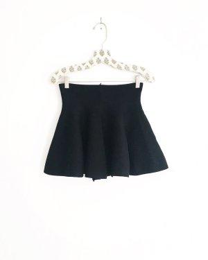Vintage Flared Skirt black