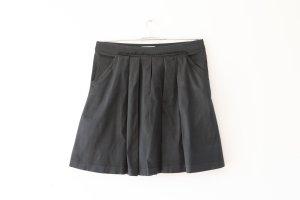 schwarzer Rock mit Taschen, von Mango, MNG Suit, Gr. 40.