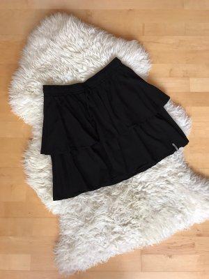 Cleptomanicx Plaid Skirt black