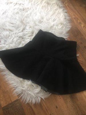 Stradivarius Skater Skirt black