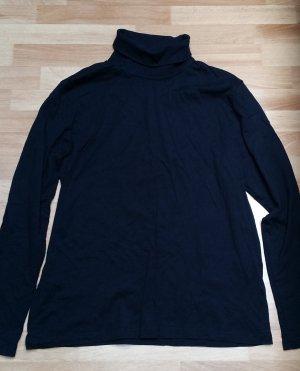 schwarzer Rollkragen Pullover/ langarmig/Gr. 42/ M/ C&A