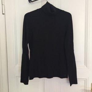 Schwarzer Rollkragen Pullover von S.Oliver Größe 36