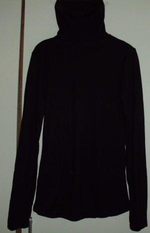 Schwarzer Rollkragen Sweater