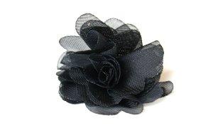 schwarzer Rosenring aus Stoff