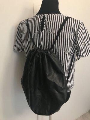 H&M Backpack black
