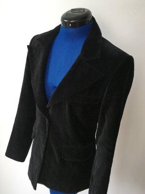 Schwarzer Samt-Blazer Vero Moda Gr. 38