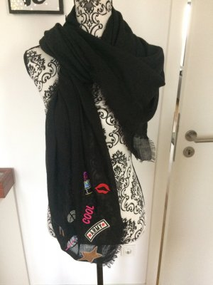 100 Summer Scarf black