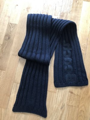 Bench Sciarpa lavorata a maglia nero