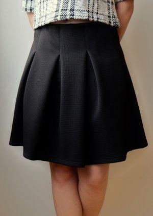 Falda circular negro