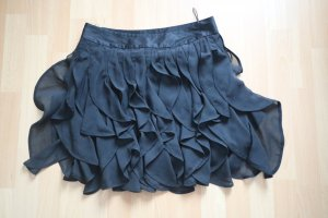 Tom Tailor Fringed Skirt black