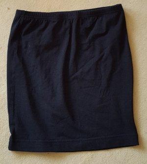 Schwarzer Shirtrocke