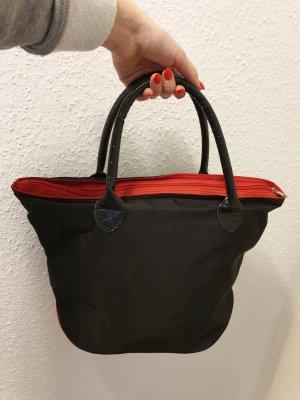 Shopper noir-rouge