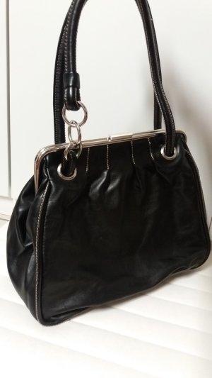schwarzer Shopper/ Handtasche