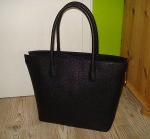 H&M Comprador negro Imitación de cuero