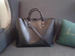 Schwarzer Shopper von Zalando Collection