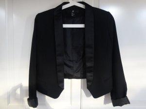H&M Veste de smoking noir polyester