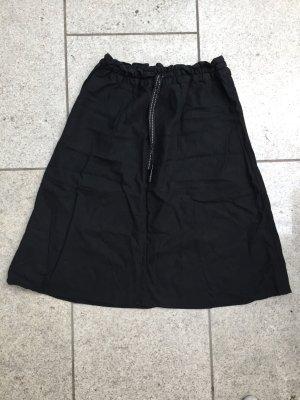 H&M Linnen rok zwart-wit Linnen
