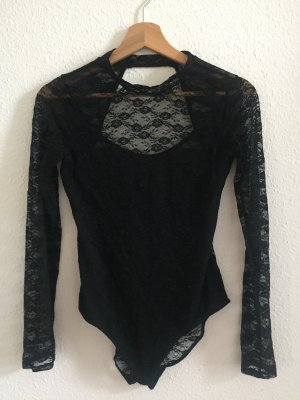 H&M Bodysuit Blouse black