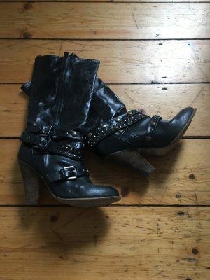 Schwarzer Stiefel Sasha