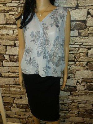 Stretch Skirt black-grey mixture fibre