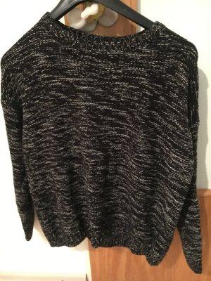 Schwarzer strick Pullover Größe M