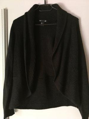 Schwarzer Strickcardigan Größe M