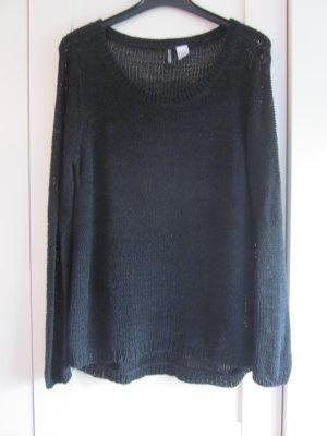 schwarzer Strickpullover von H&M