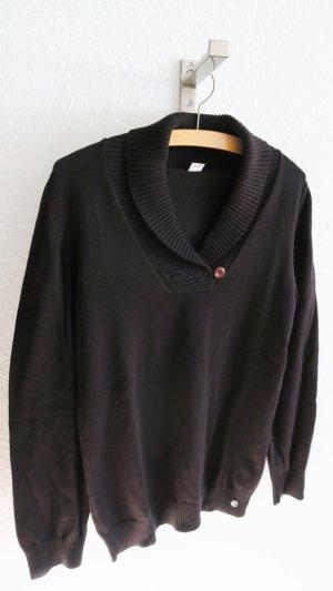 schwarzer Strickpullover von s.Oliver 36