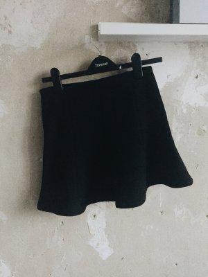 Schwarzer Strickrock von Zara