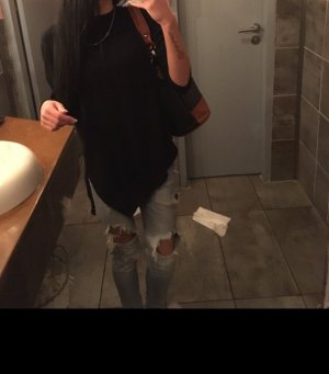 Zara Jersey largo negro