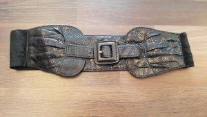 Waist Belt black-silver-colored
