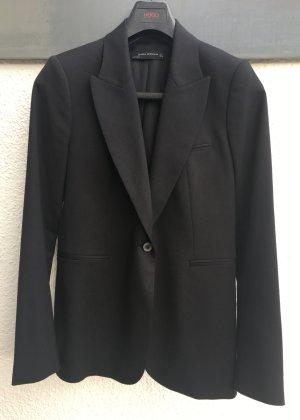 Schwarzer taillierter Blazer, Gr. L