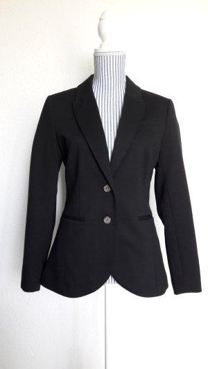 H&M Jersey Blazer negro Poliéster