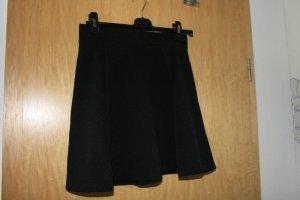 H&M Divided Falda circular negro Poliéster