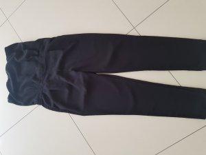 schwarzer trägerloser Overall Zara