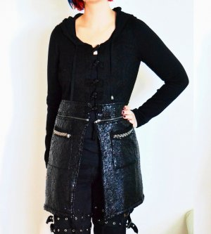 Tredy Wool Coat black wool