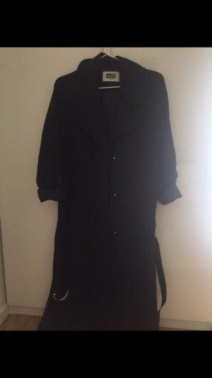 Schwarzer Trench Coat von Weekday