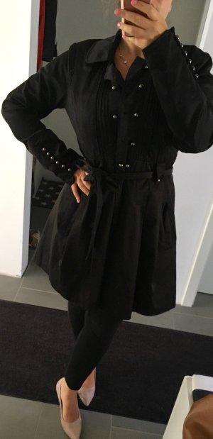 Schwarzer Trench von Vero Moda